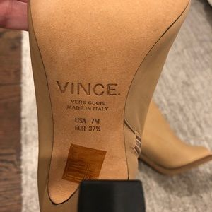 Vince Shoes - Vince open toe bootie
